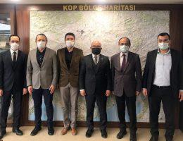 Jeoloji Mühendisleri Odası Konya Şubesinden KOP Başkanı ŞAHİN'e Ziyaret