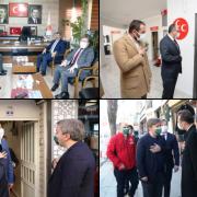 Aksaray Valisi Aydoğdu siyasi partilere iade-i ziyaretlerde bulundu