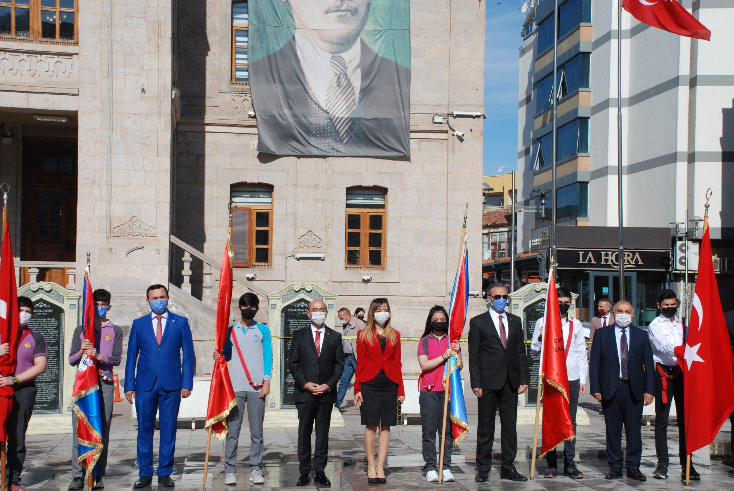 23 Nisan kutlamaları Pandemi nedeniyle Mini tören ile kutlandı