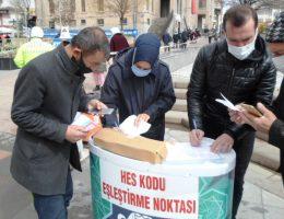 Aksaray'da Para ile toplu taşımada seyahat devri kapandı