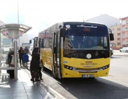 12 Nisandan sonra Aksaray'da Otobüslerde nakit para geçmeyecek
