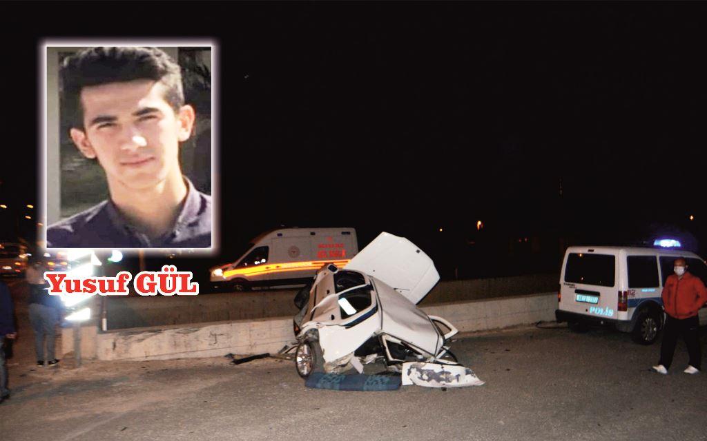 7 metre yüksekten alt geçide düşen sürücü hayatını kaybetti