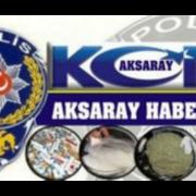 Aksaray'da bandrolsüz tütün satışı yapılan iş yeri basıldı
