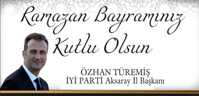 """Özhan Türemiş """"Ramazan Bayramınız Kutlu Olsun"""""""
