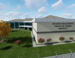 Engelsiz Yaşam Merkezi İnşaatı başlatıldı