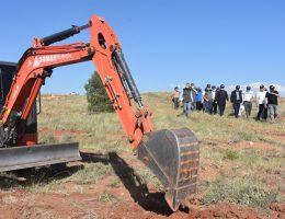 200 hektar alanda 200 bin fidanı toprakla buluşacak