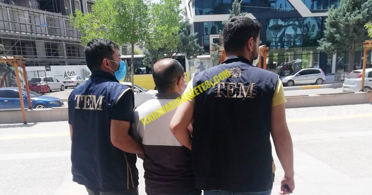 Aksaray'da FETÖ Silahlı Terör Örgü mensubu yakalandı
