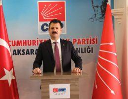 """CHP Aksaray il başkanı Ertürk""""15 Temmuz Cemaate Biat Edenlerin Çöküşüdür"""""""
