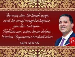 """Sefer Alkan """"Kurban Bayranınız Mübarek olsun"""""""